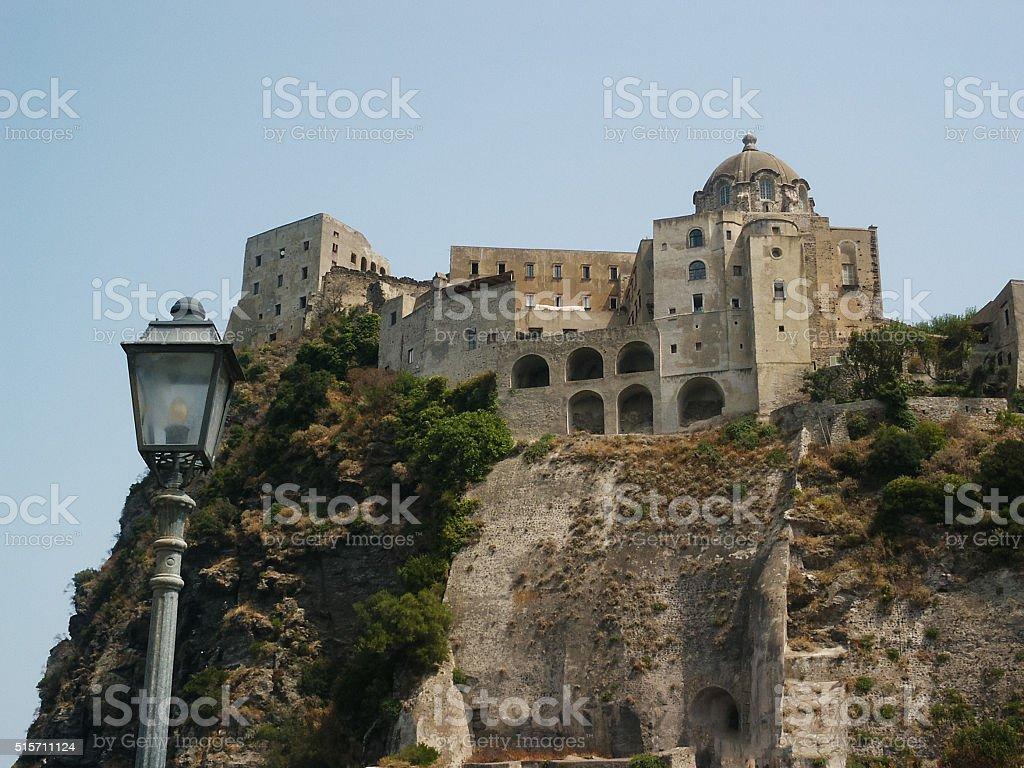 View of Ischia, Italy in Ischia stock photo