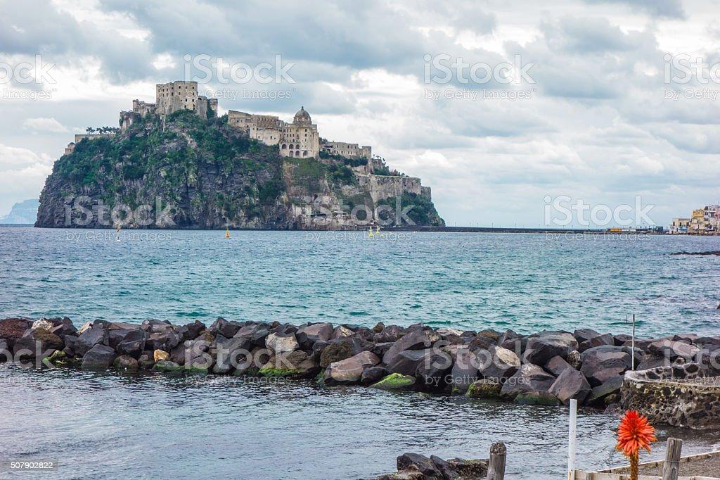 View Of Ischia Porto, Naples, Italy stock photo
