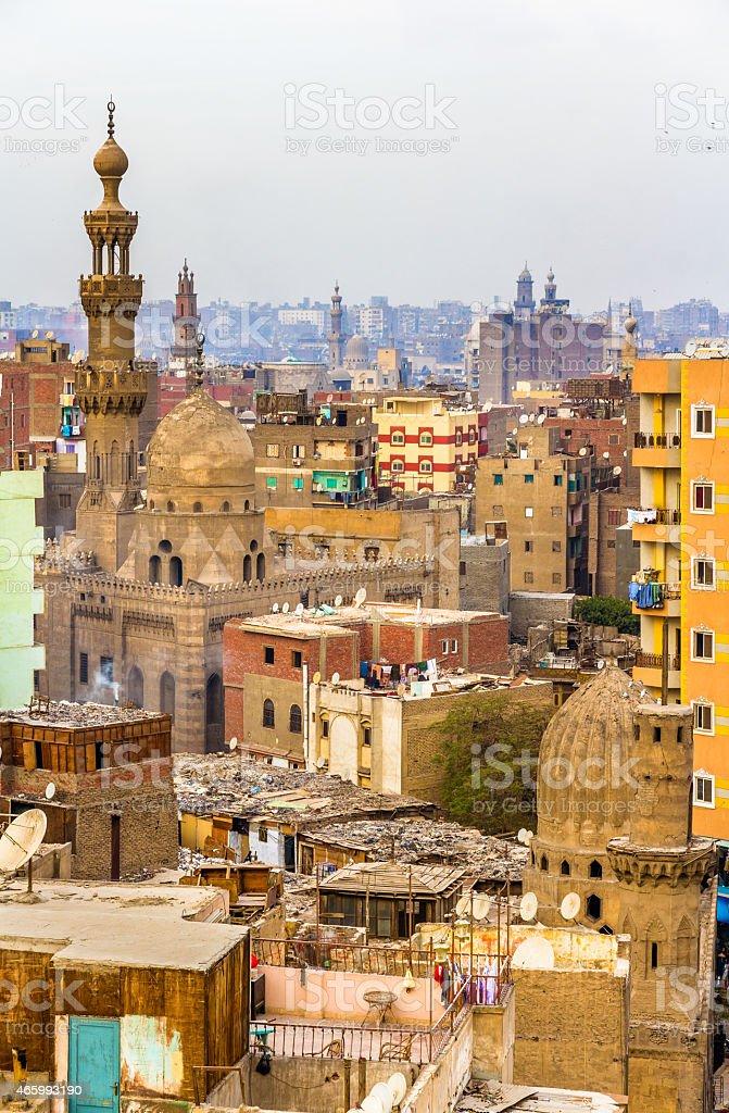 View of Islamic Cairo - Egypt stock photo