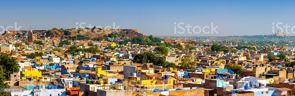 View of Jodhpur, India stock photo