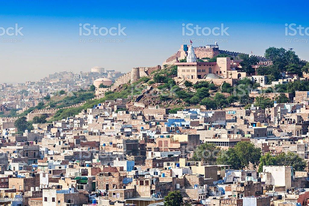 View of Jodhpur stock photo