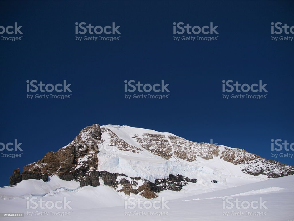 View of Jungfraujoch,Grindelwald/Switzerland stock photo