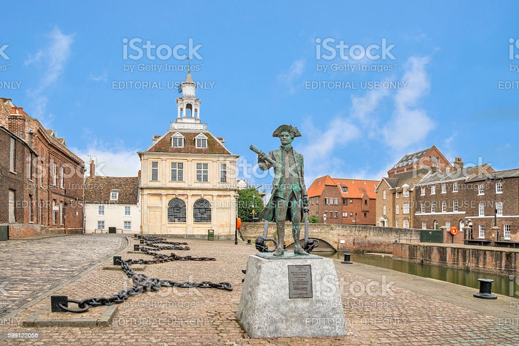 View of King's Lynn Tourist Information Centre, England, stock photo