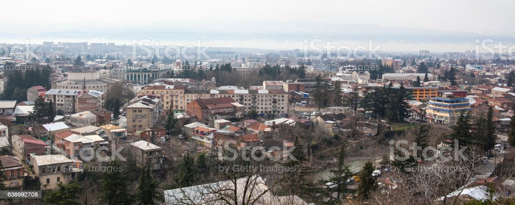 View of Kutaisi stock photo