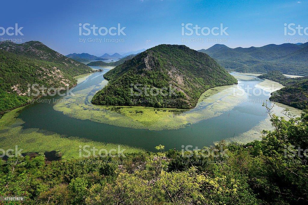 View of Lake stock photo