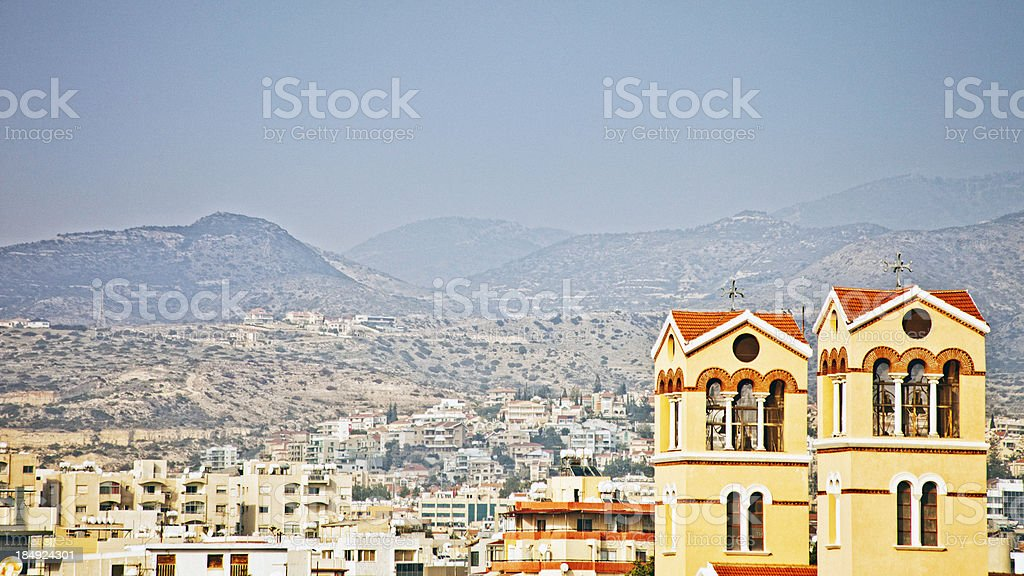 View of Limassol. stock photo