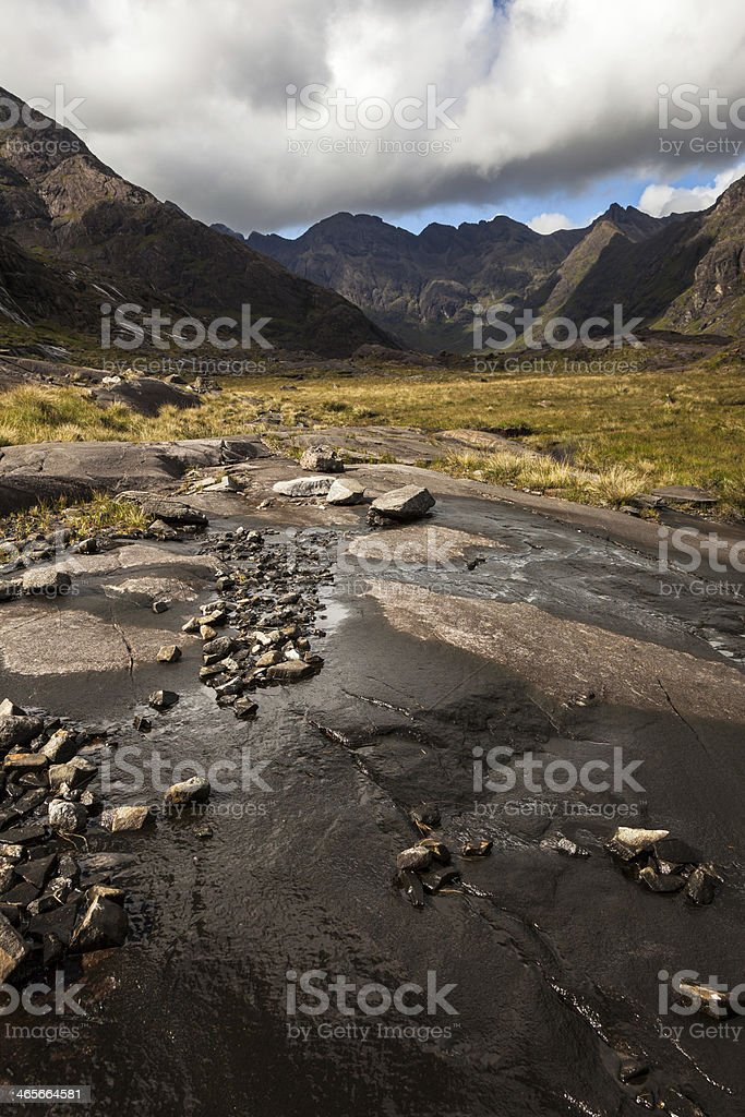 View of Loch Coruisk stock photo
