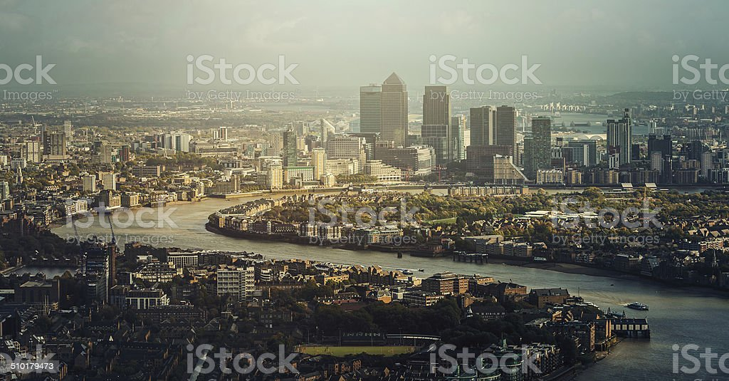 View of London stock photo