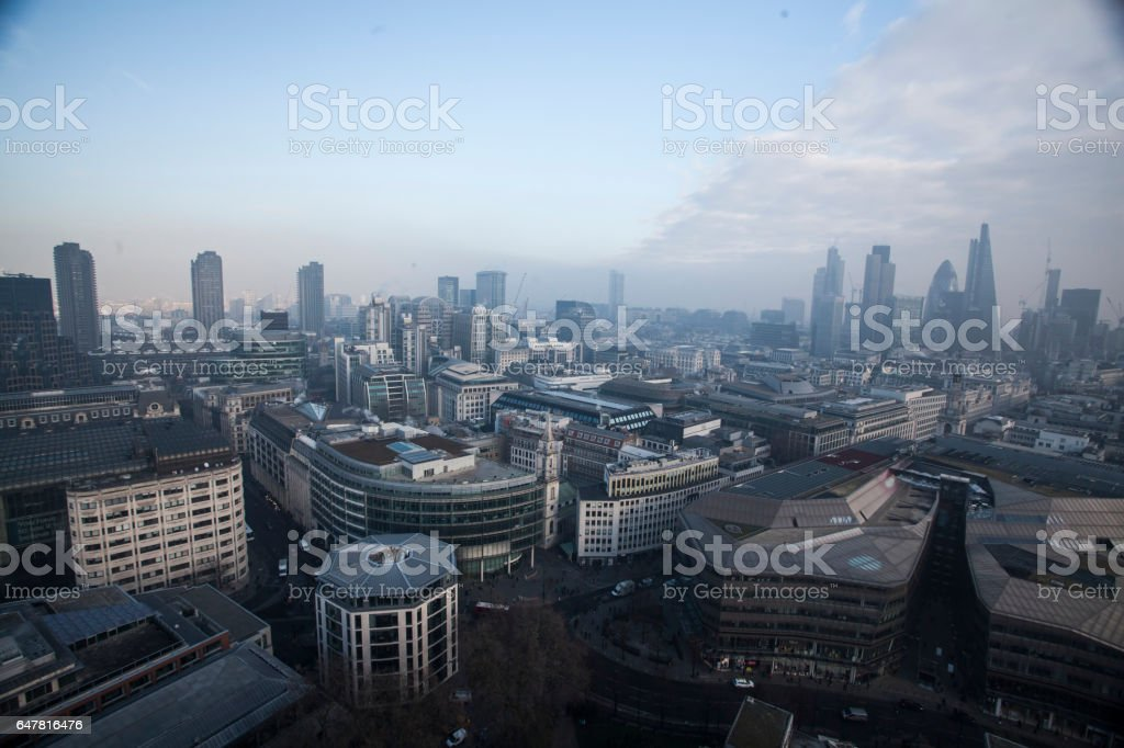 View of London, UK stock photo