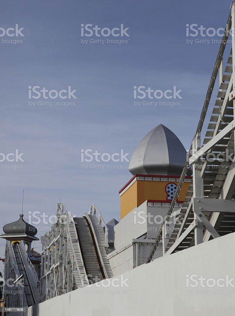 View of Luna Park stock photo