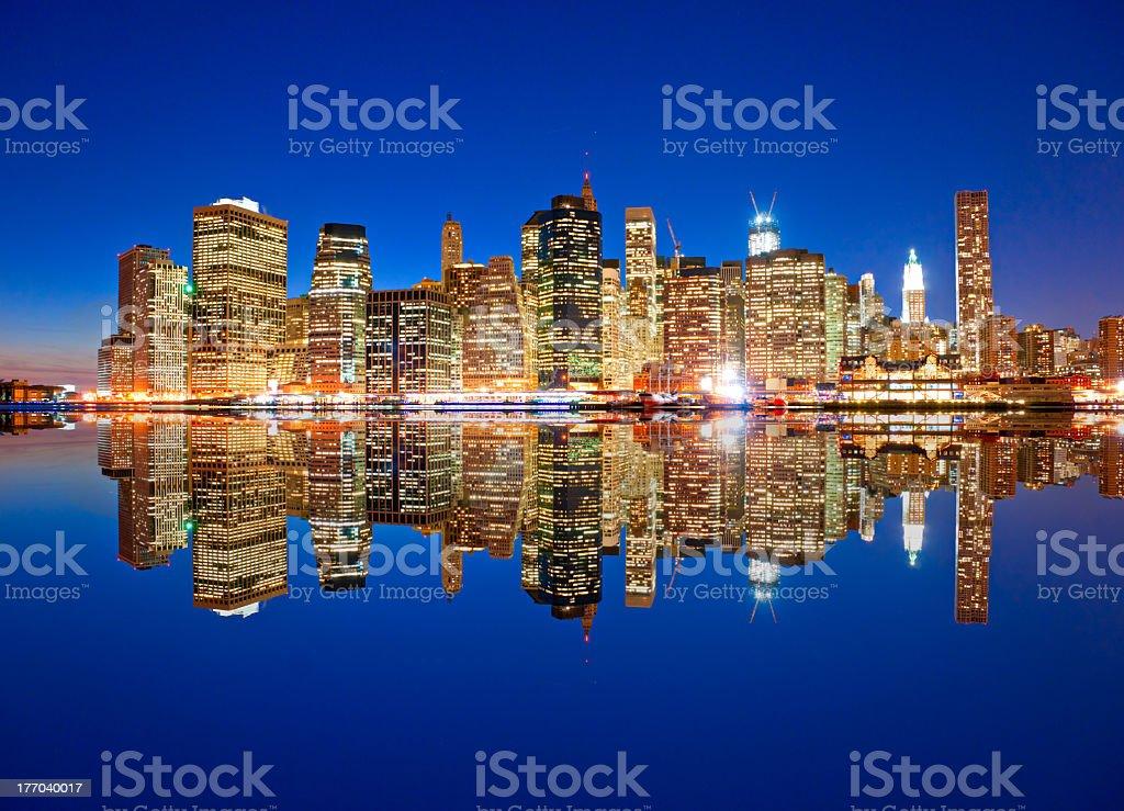 Blick auf Manhattan, New York City. USA. – Foto