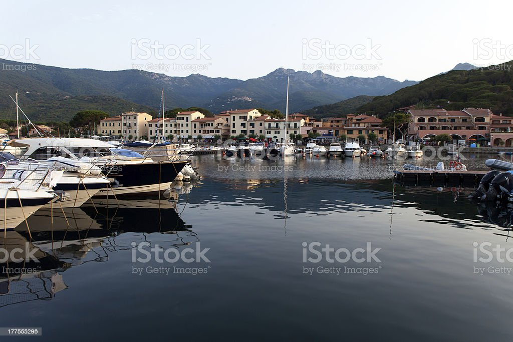 View Of Marciana Marina royalty-free stock photo