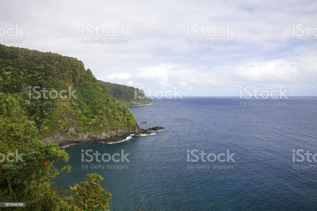 A view of Maui royalty-free stock photo