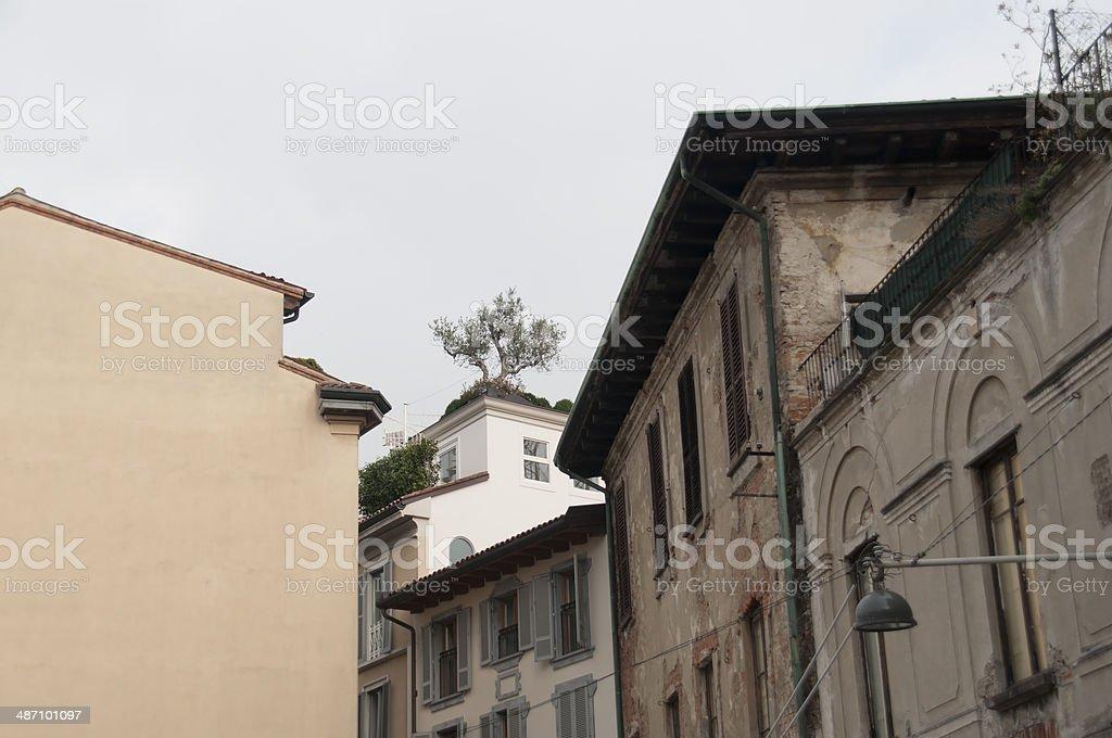 View of Milan royalty-free stock photo