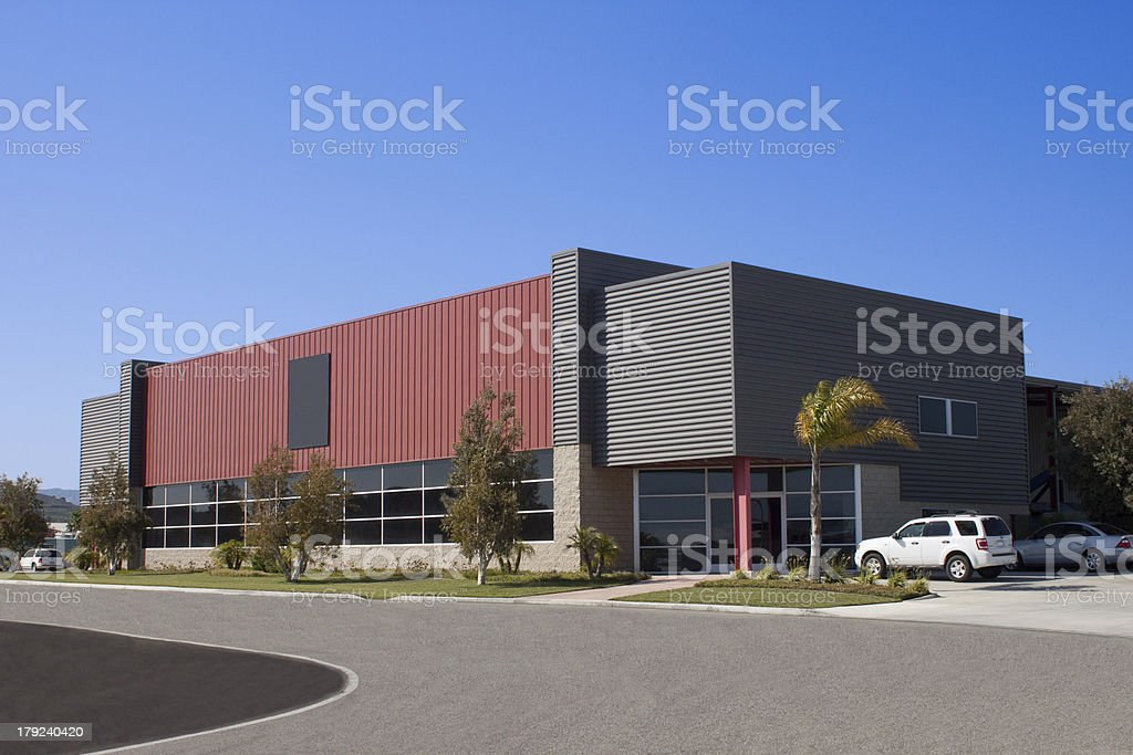 View of modern office building stock photo