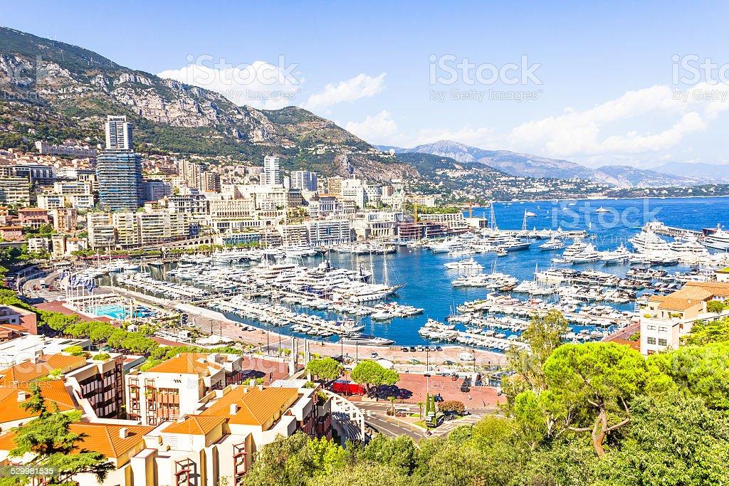 View of Monaco stock photo