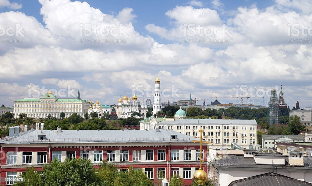View of Moscow, Russia royalty-free stock photo