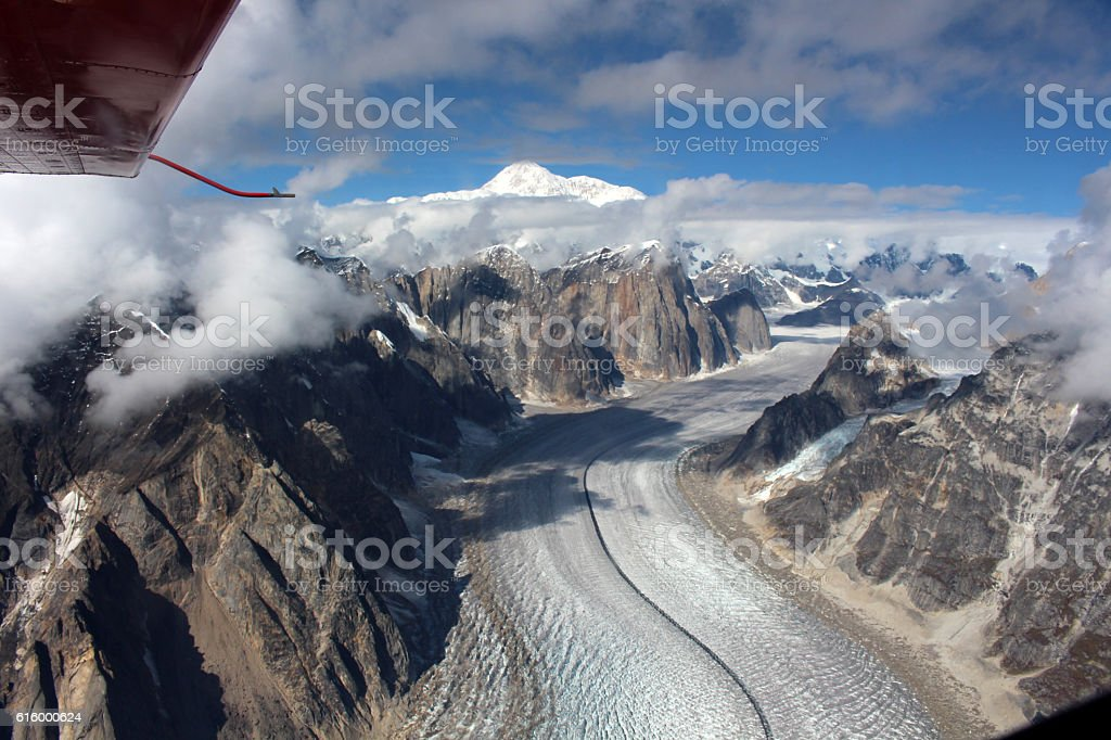 Blick auf  Mount Denali stock photo