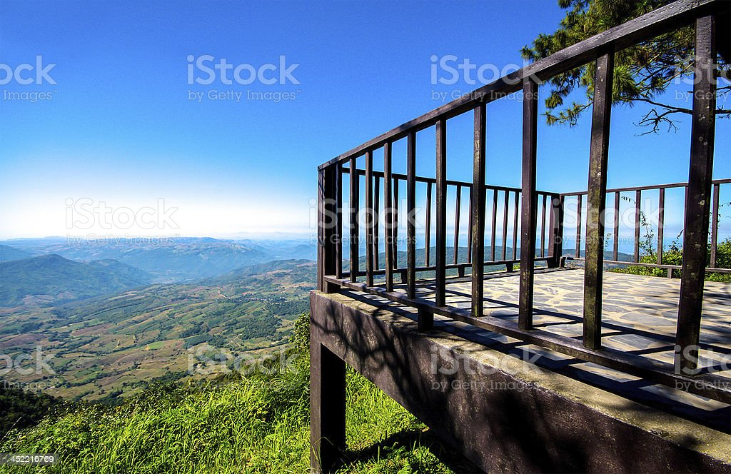 View of mountain royalty-free stock photo