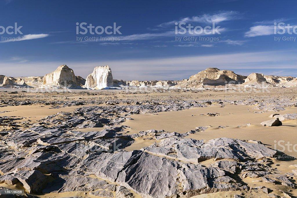 View of mountains in White desert royalty-free stock photo