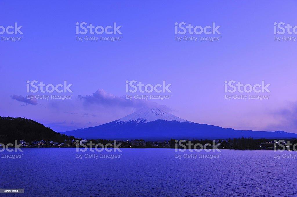 View of Mt. Fuji, Japan royalty-free stock photo
