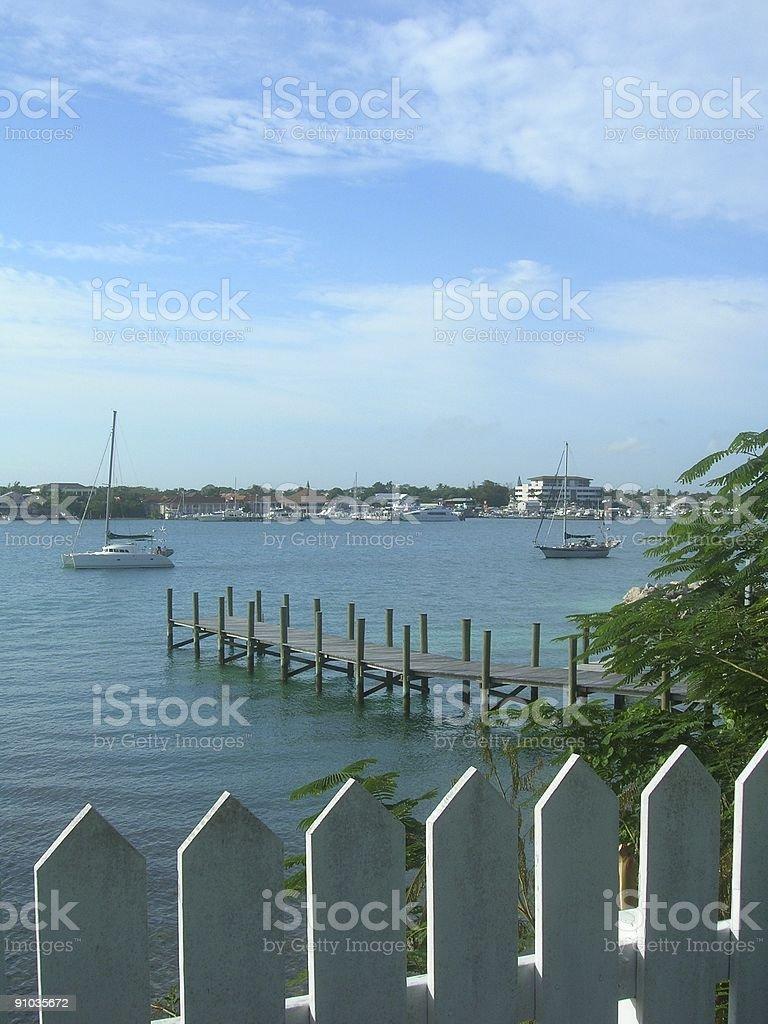 View of Nassau royalty-free stock photo