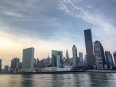 View of New York City skyline from Brooklyn