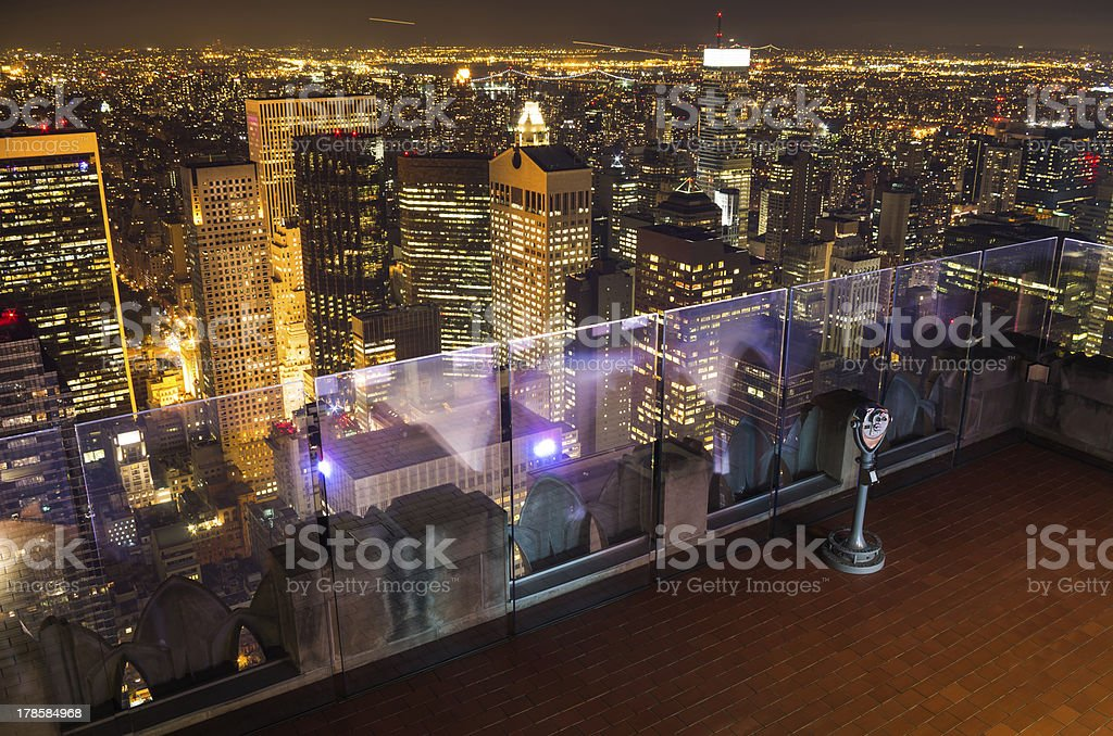 view of new york royalty-free stock photo