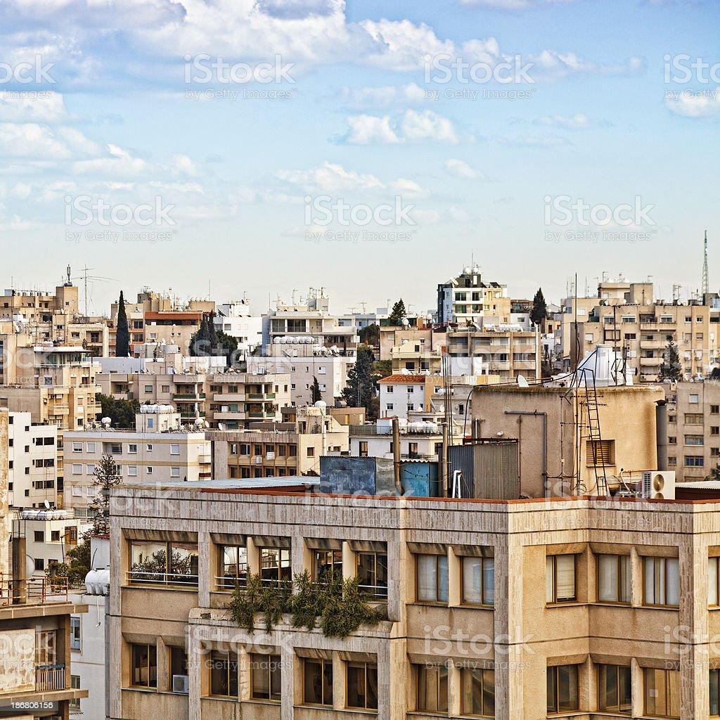 View of Nicosia. stock photo