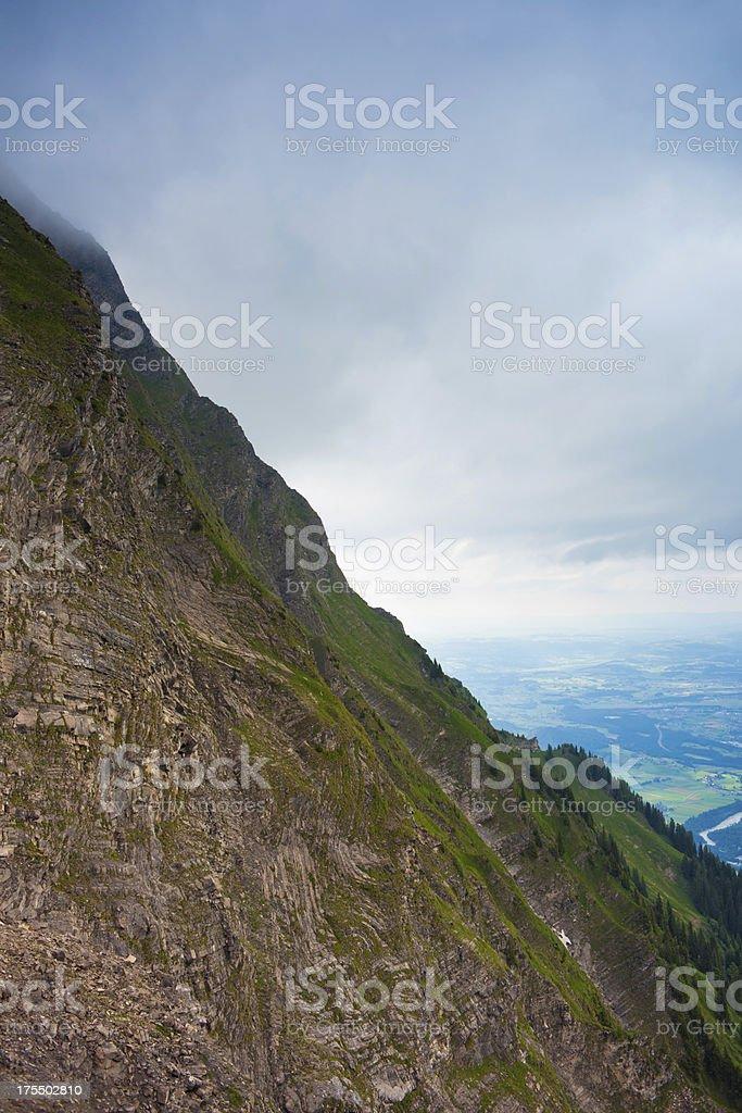 View of Niesen mountain,Switzerland royalty-free stock photo