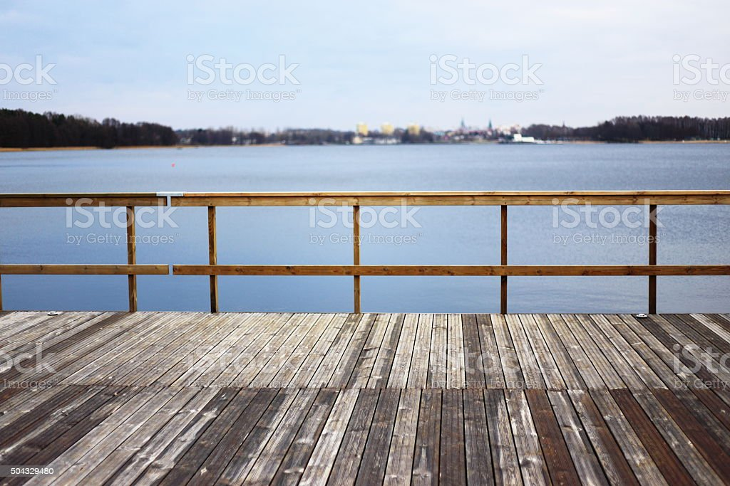 view of olsztyn royalty-free stock photo
