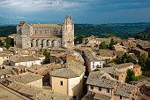 View of Orvieto town, Umbria, Italy