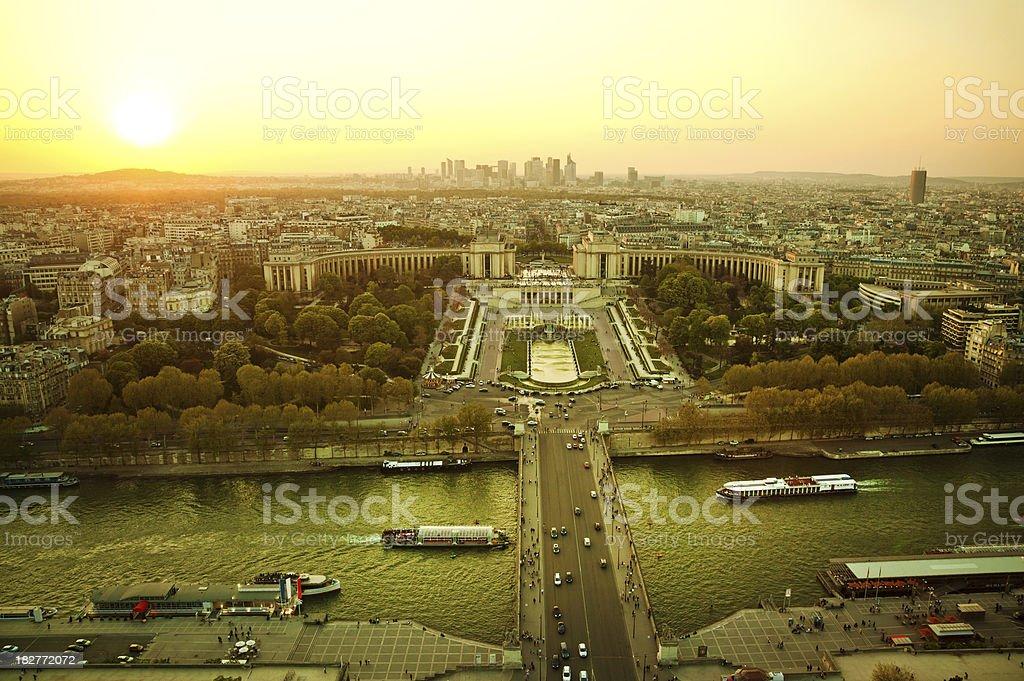 View of Paris royalty-free stock photo
