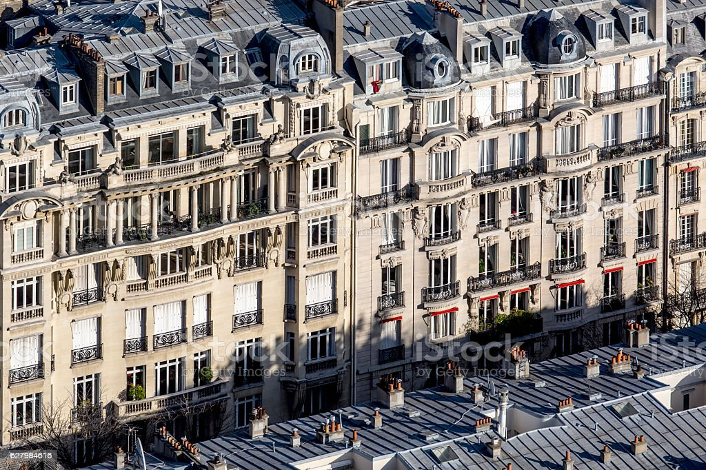 View of Paris. stock photo