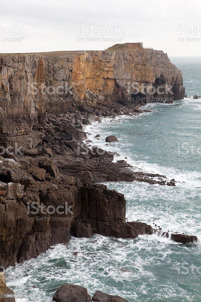 Pembroke 海岸沿いの眺め ロイヤリティフリーストックフォト