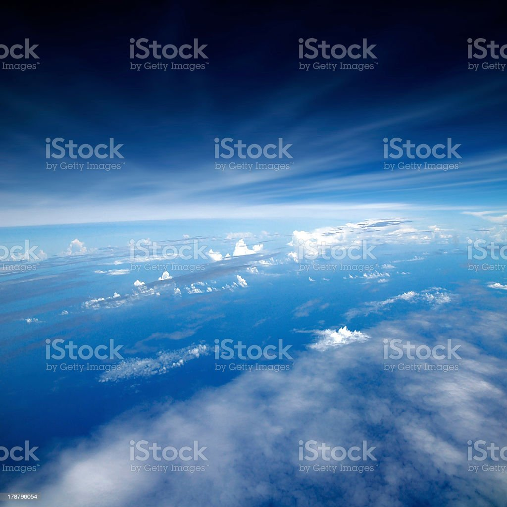 View of Planet Earth stock photo