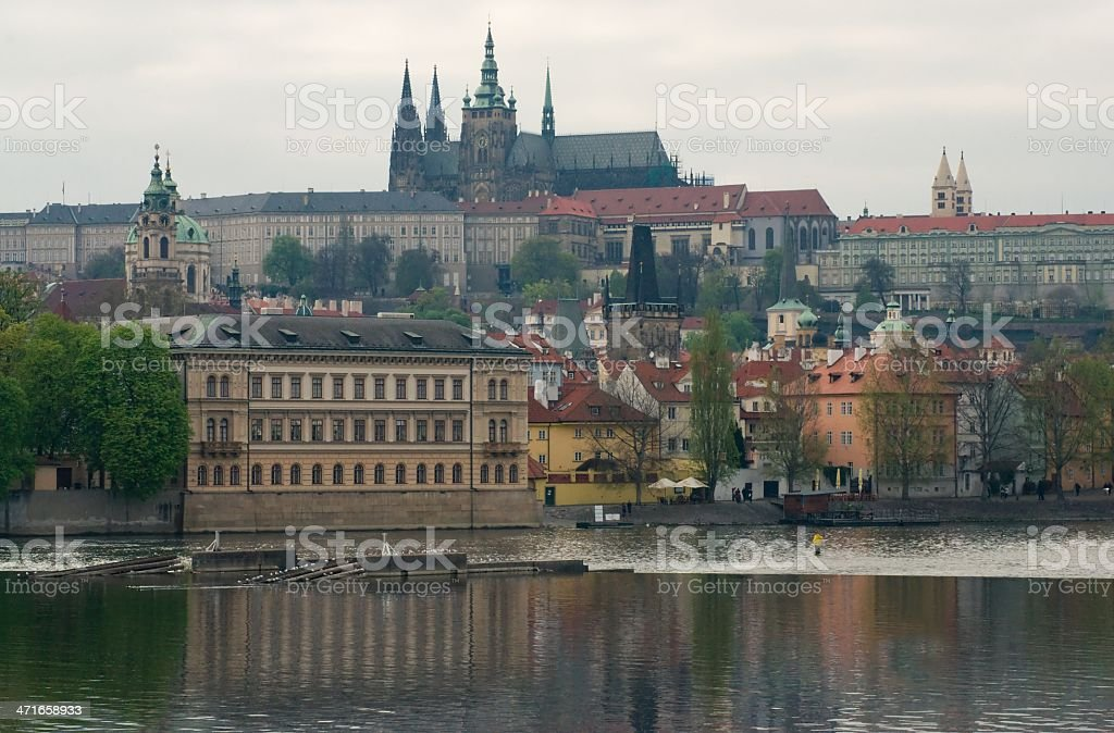 View of Prague Castle royalty-free stock photo