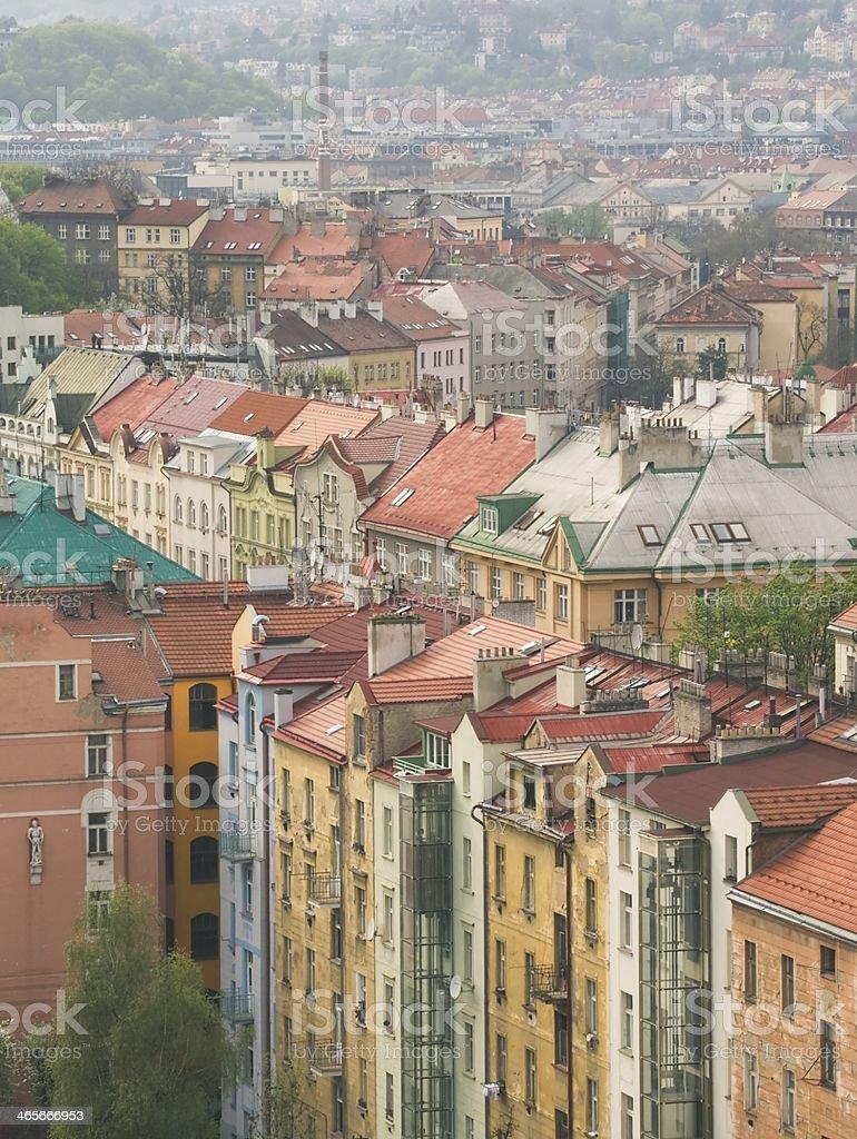 View of Prague royalty-free stock photo