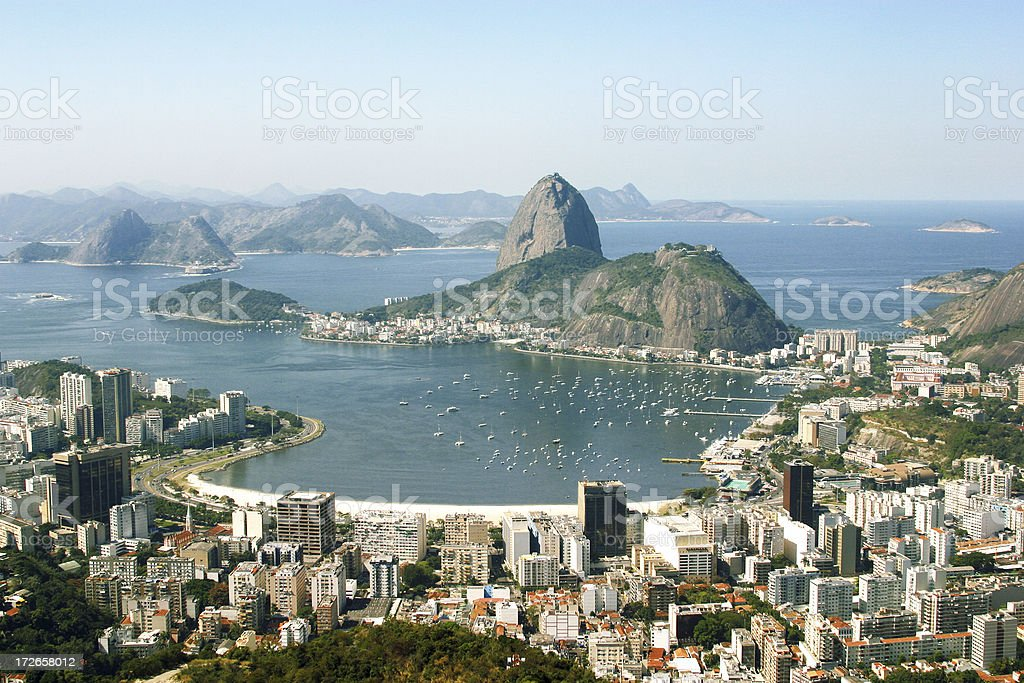 View of Rio royalty-free stock photo
