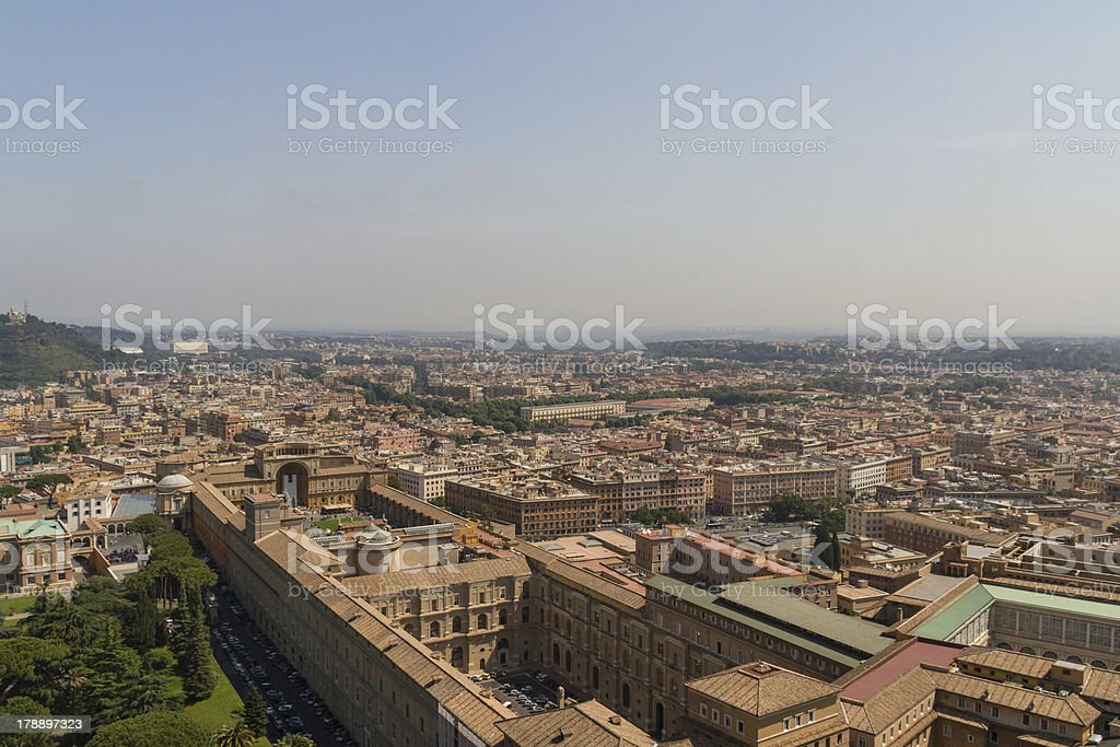View of Rome, Italy royalty-free stock photo