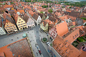 View of Rothenburg ob der Tauber, Germany