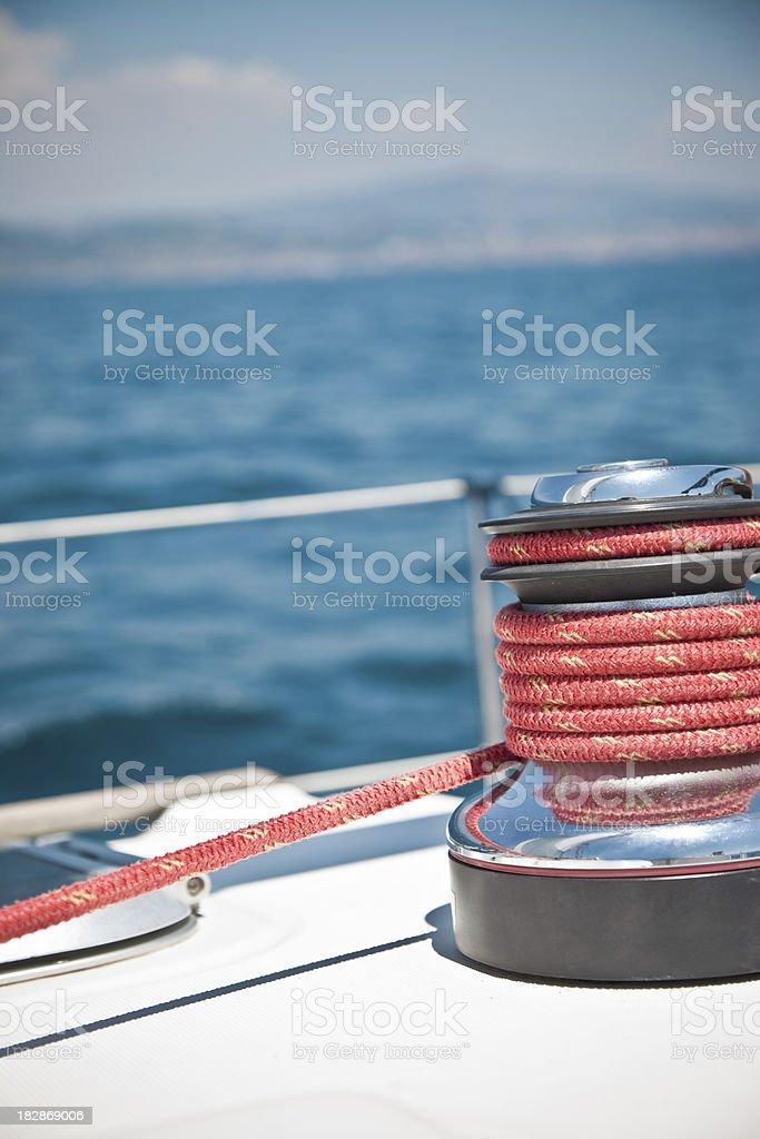 View Of Sailing Boat royalty-free stock photo