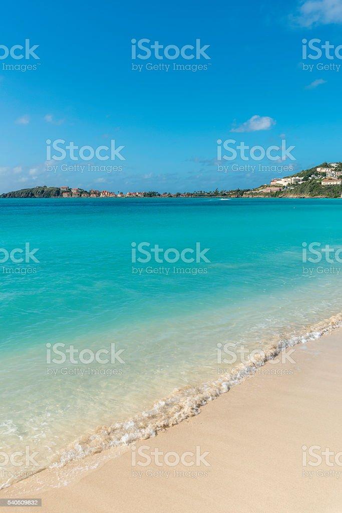 View of Saint Martin stock photo