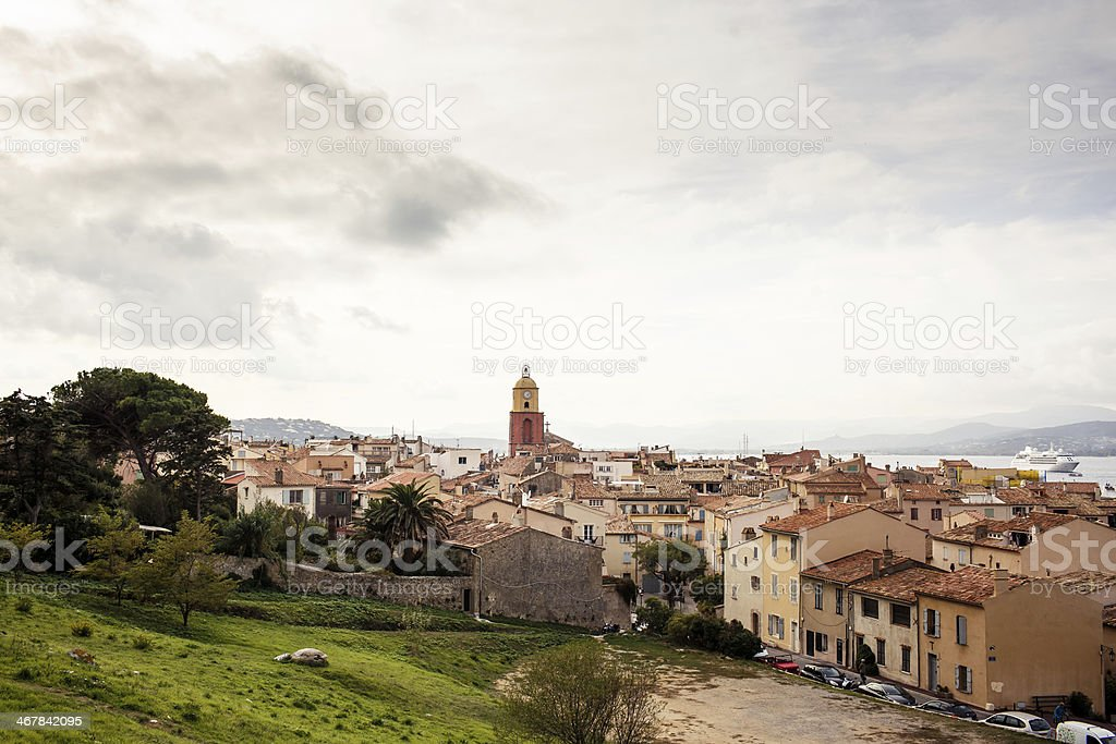 View of Saint Tropez royalty-free stock photo
