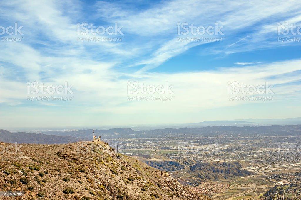 View of San Fernando Valley stock photo