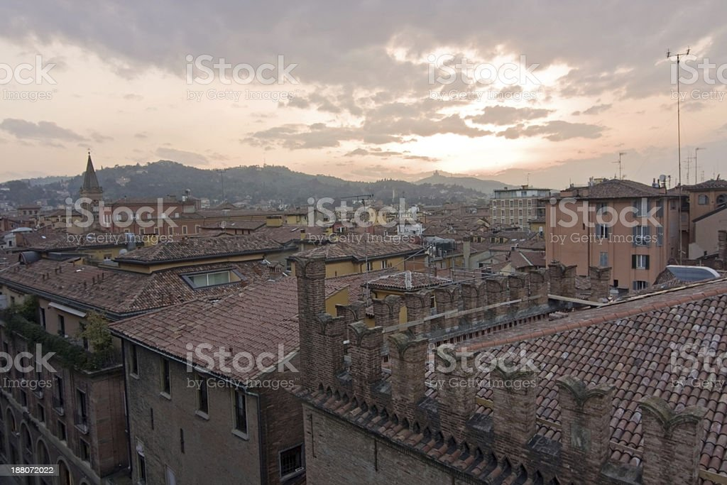 view of san luca - bologna royalty-free stock photo