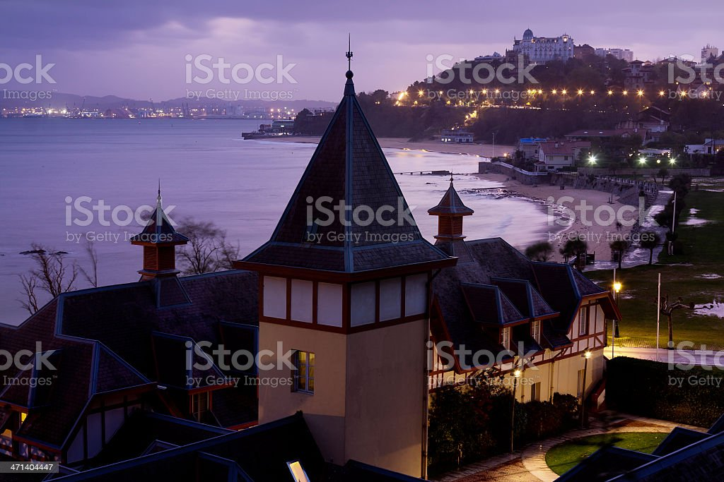 View of Santander (Northern Spain) stock photo
