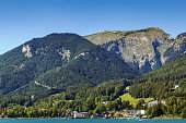 view of Schafberg mountain, Austria