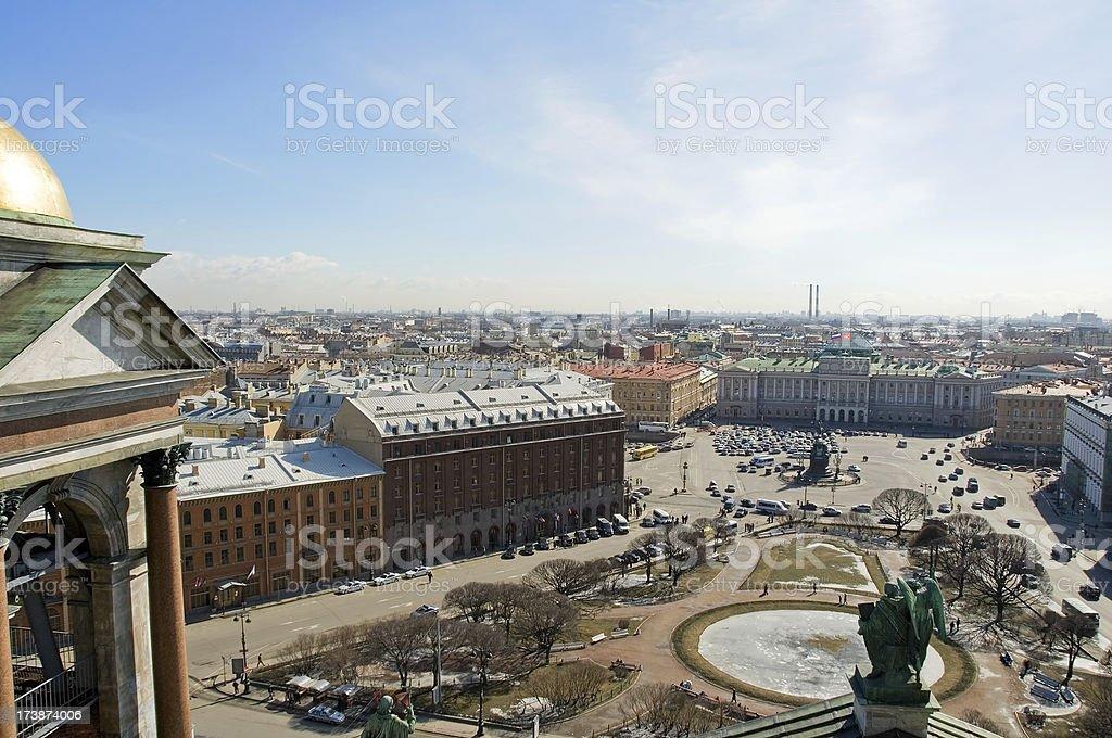View of St. Petersburg / Виды Санкт-Петербурга stock photo