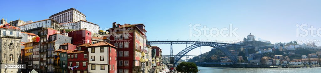 view of stadt porto stock photo